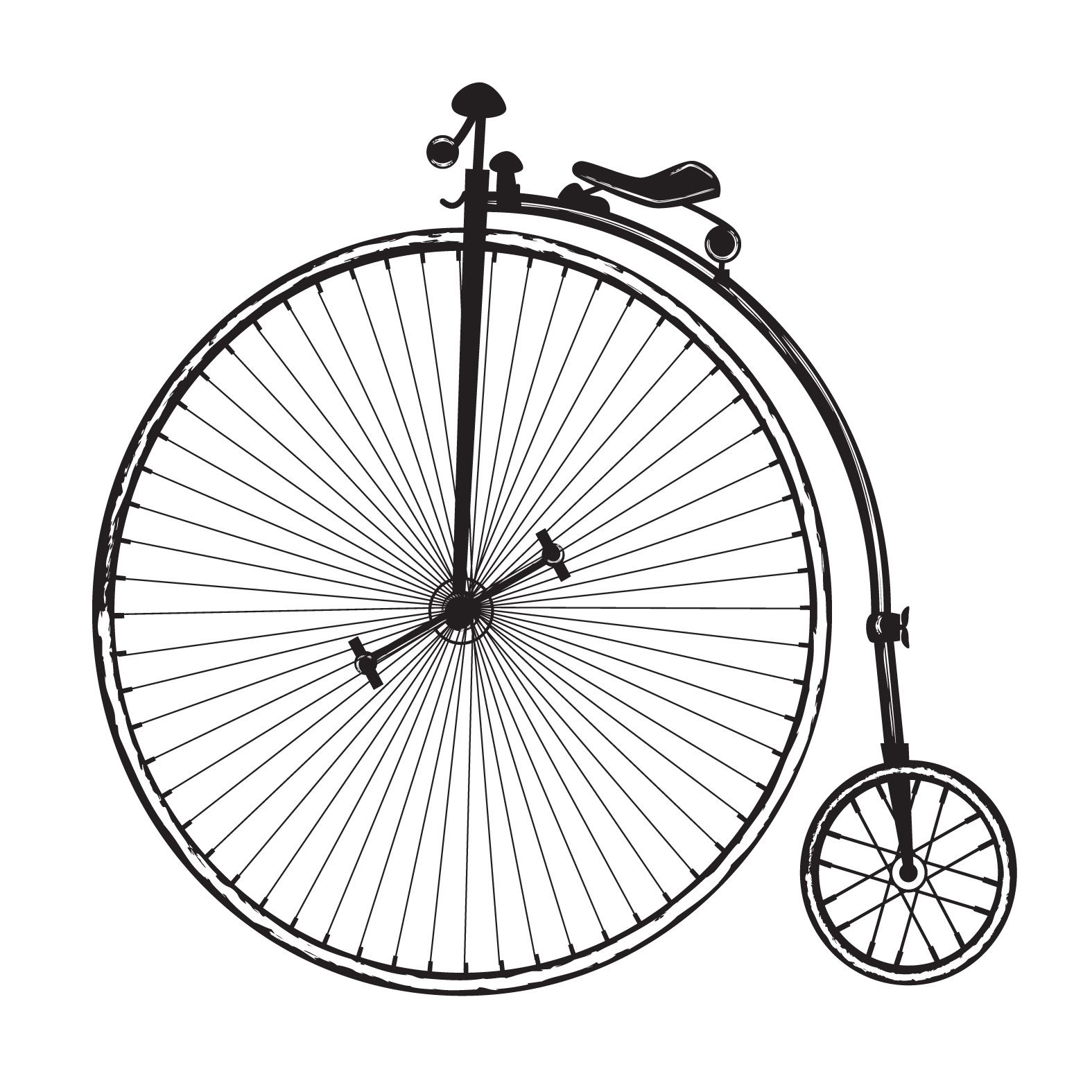bicycle clipart old