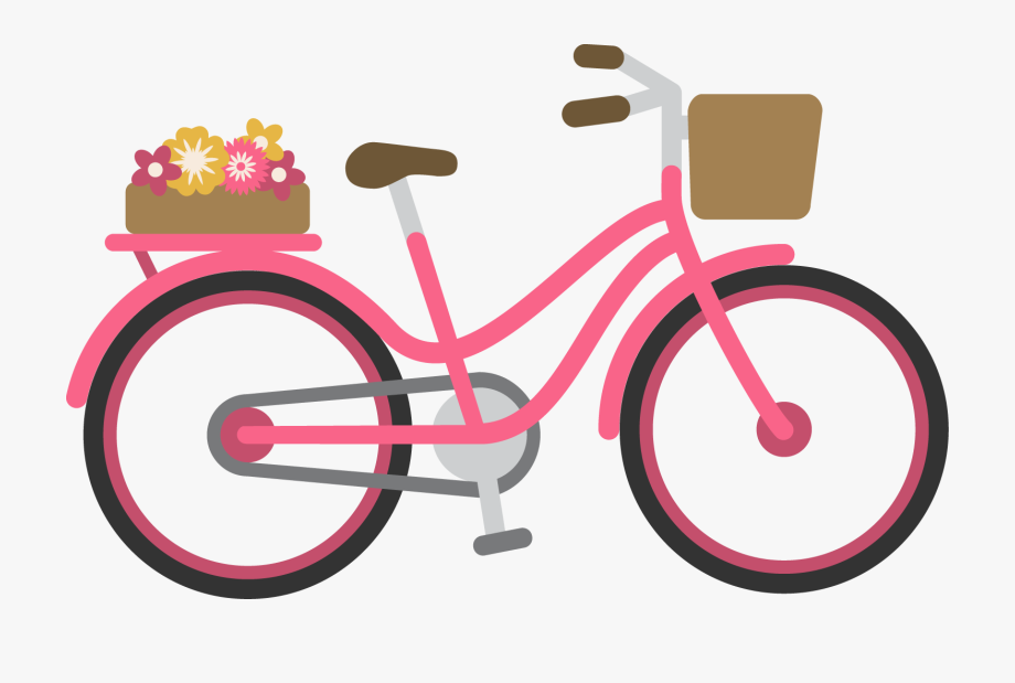 bicycle clipart pink