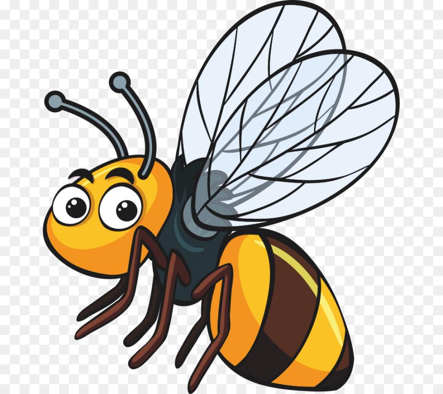 Biene clipart. Insekt png herunterladen