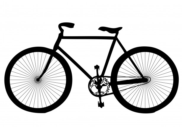 Bicycle clipart free.