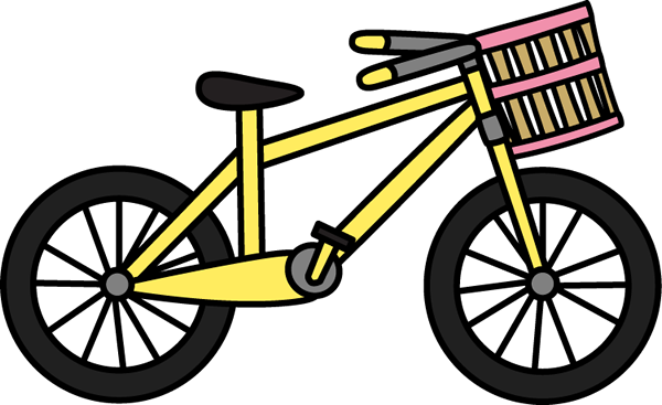 bicycle clipart basket