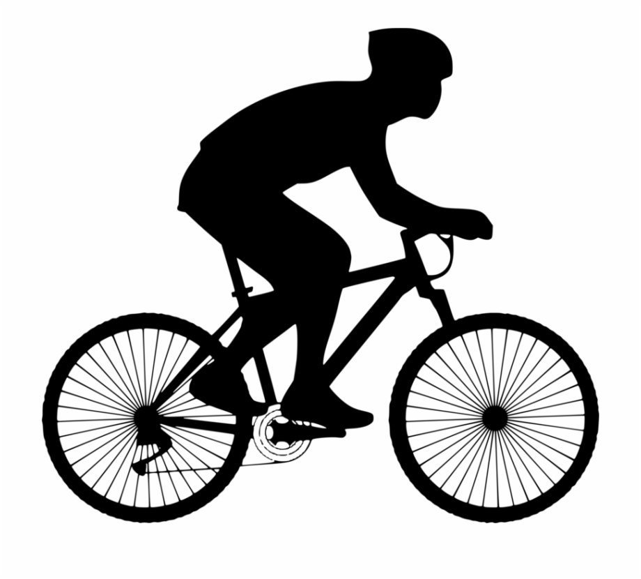 Bicycle clipart cycling. Sport person on clip