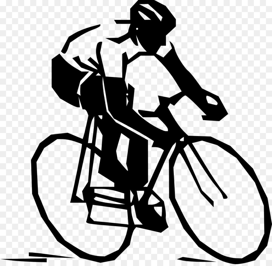 bicycle clipart road