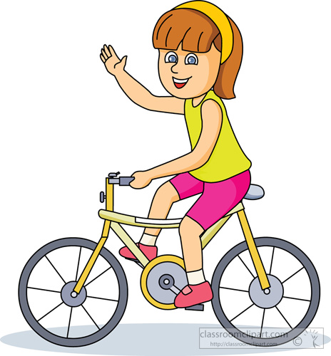 Bicycle clipart cycling. Kids riding bikes panda