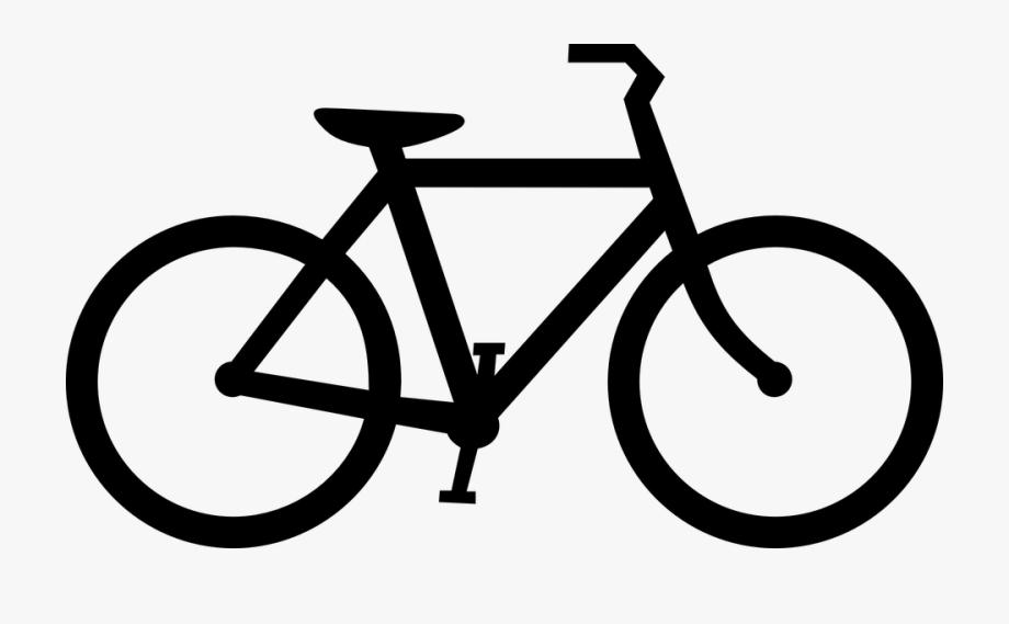 Fahrrad clipart schwarz.