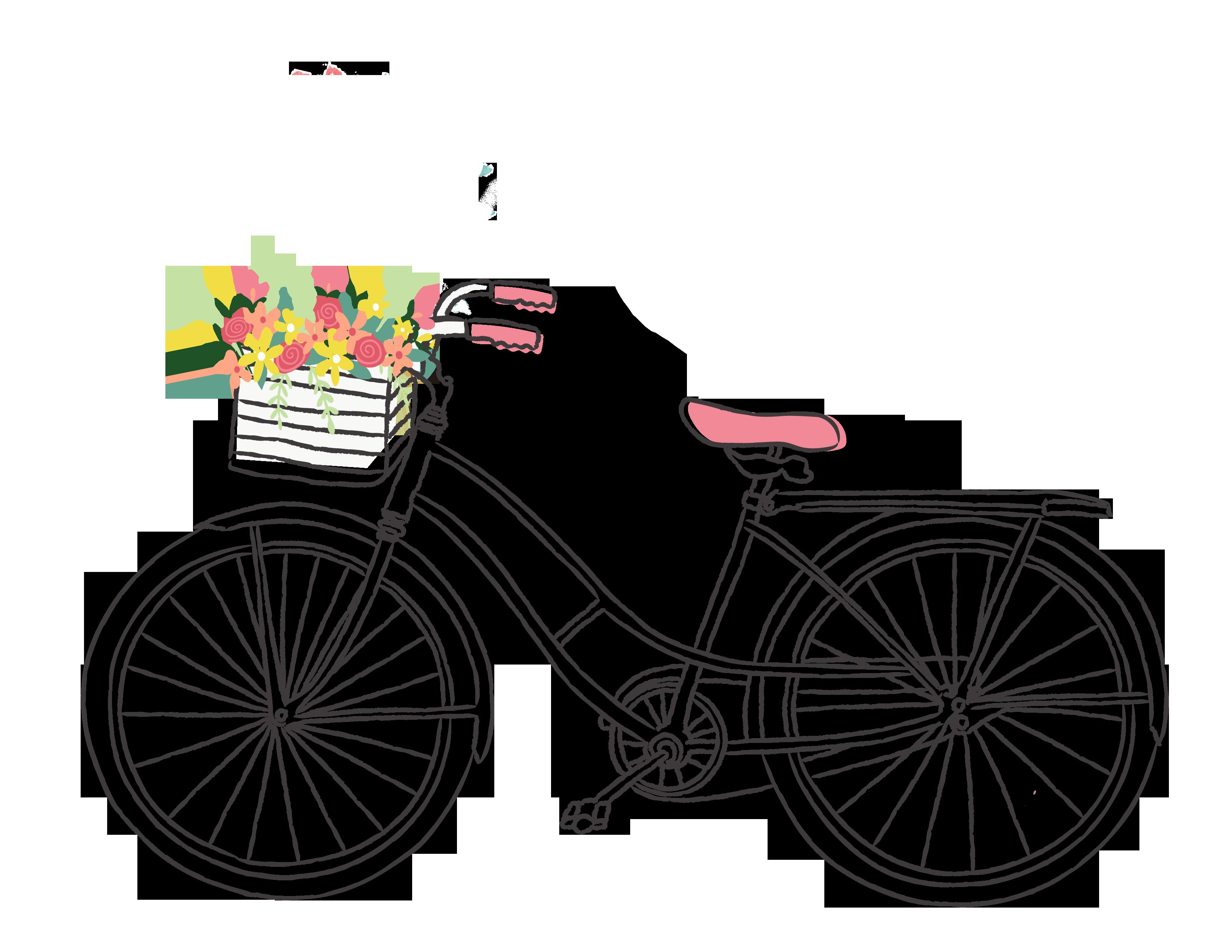 Free romantic bicycle.
