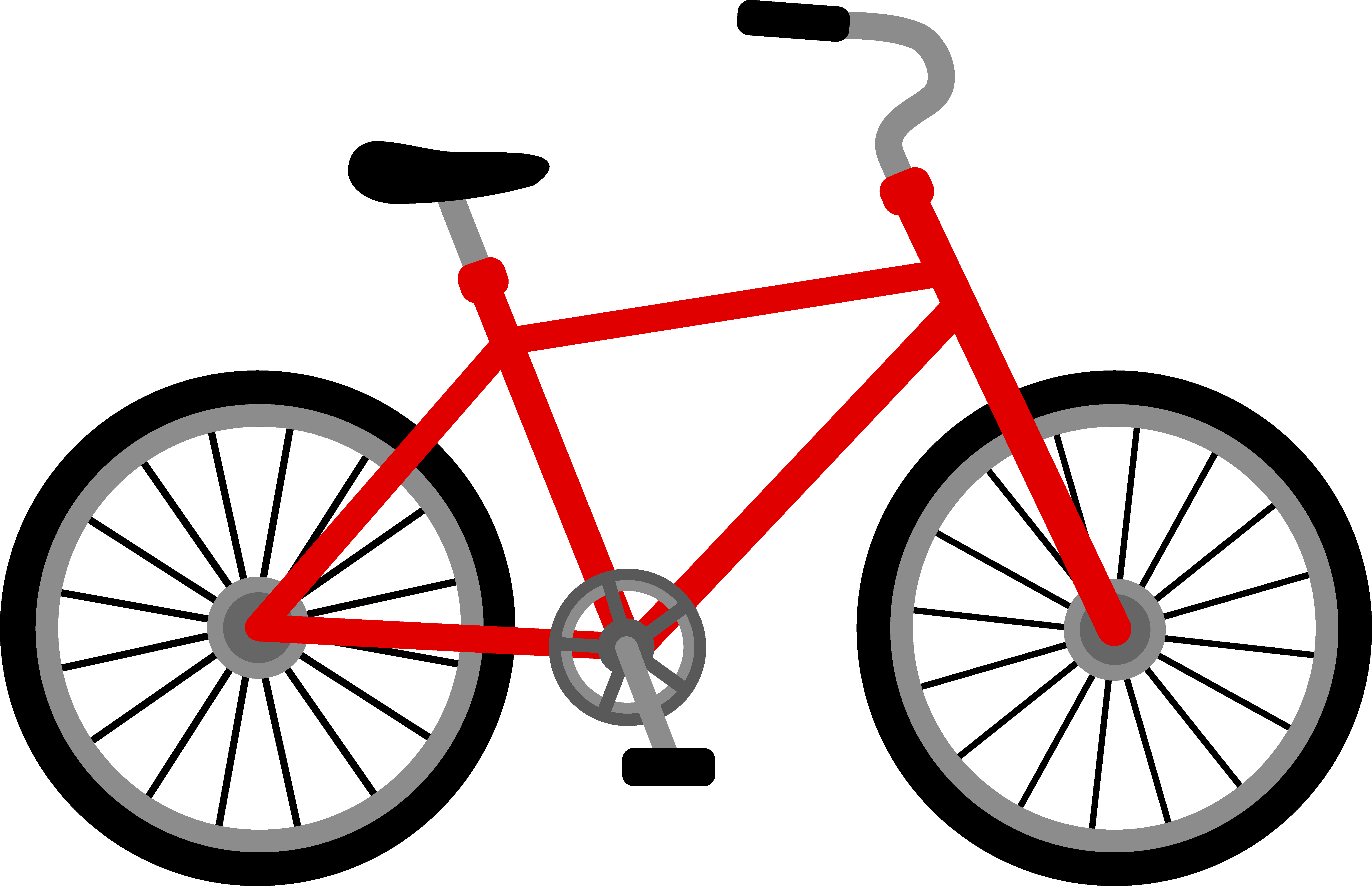 Bicycle clipart cycling. Free clip art pictures