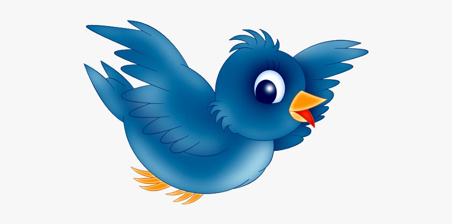 Blue bird clipart.