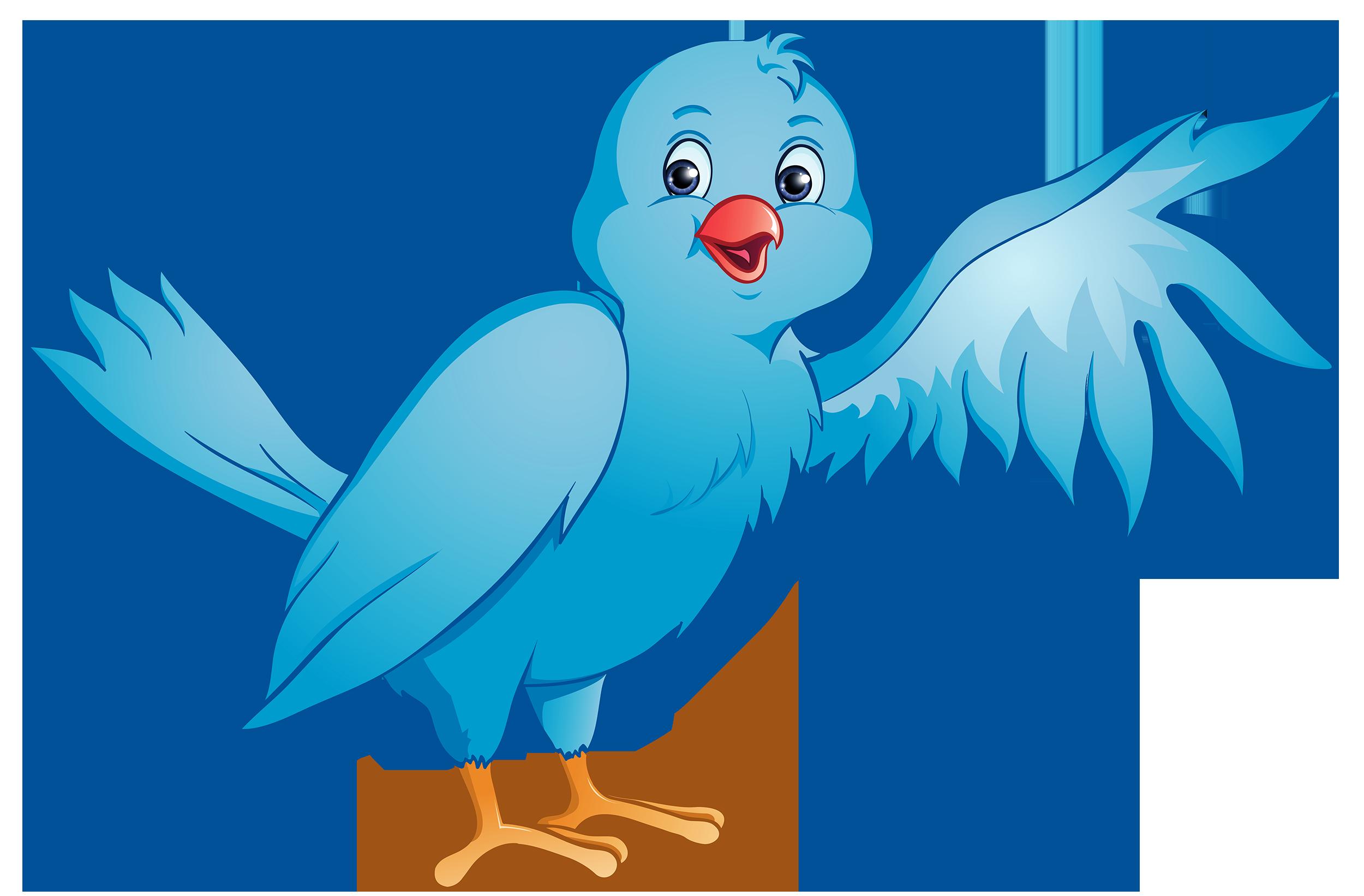 Free animated bird.