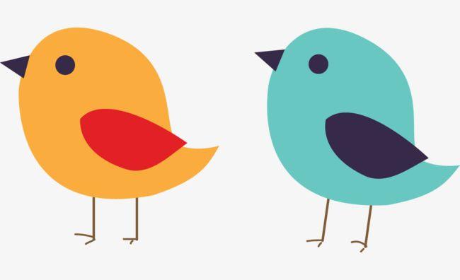 Two cute birds.