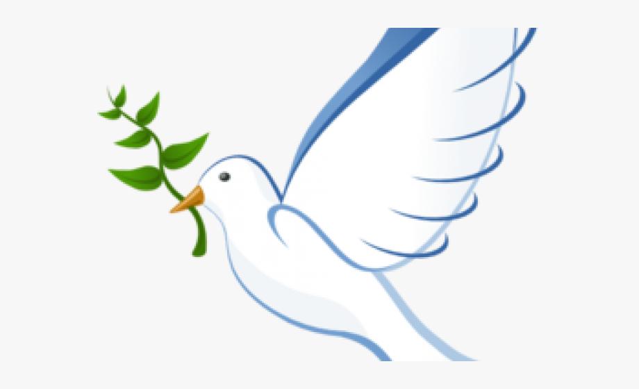 Peace dove clipart.