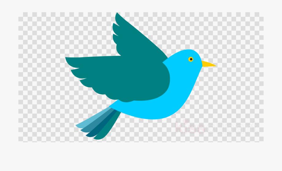 Flying bird clipart.