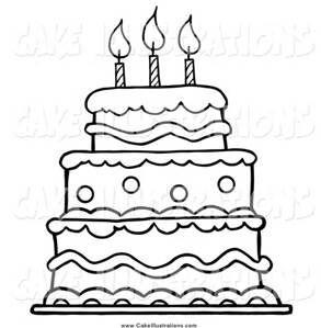 Cake clipart black.