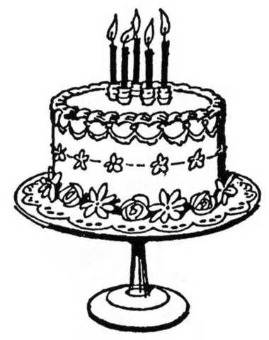 Free vintage cake.