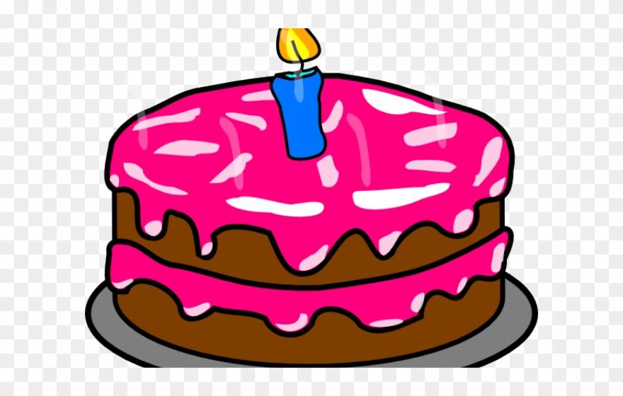 Birthday cake clipart.