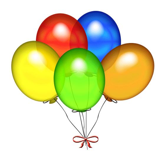 Free birthday balloons.