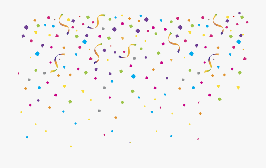 free birthday clipart confetti