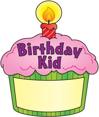 Happy birthday cupcake.