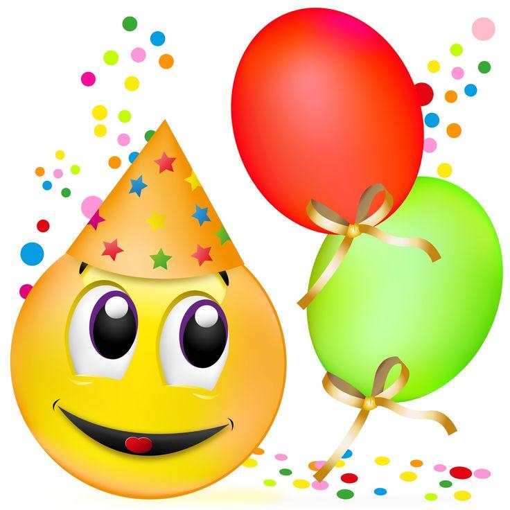 Birthday clipart emoji.