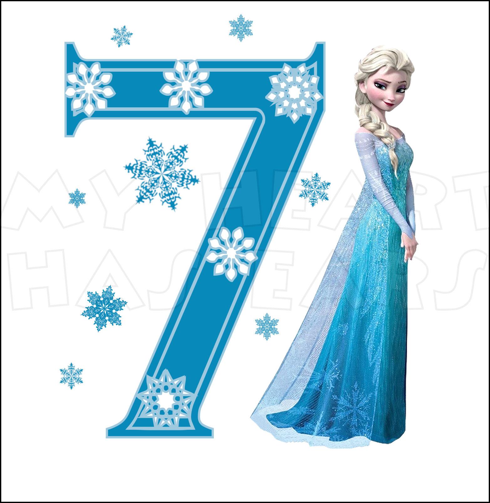 Happy Birthday Clipart Frozen