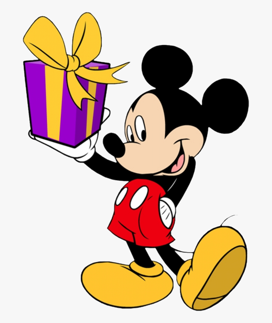 Mickey Birthday Minnie Donald Goofy Duck Mouse Clipart