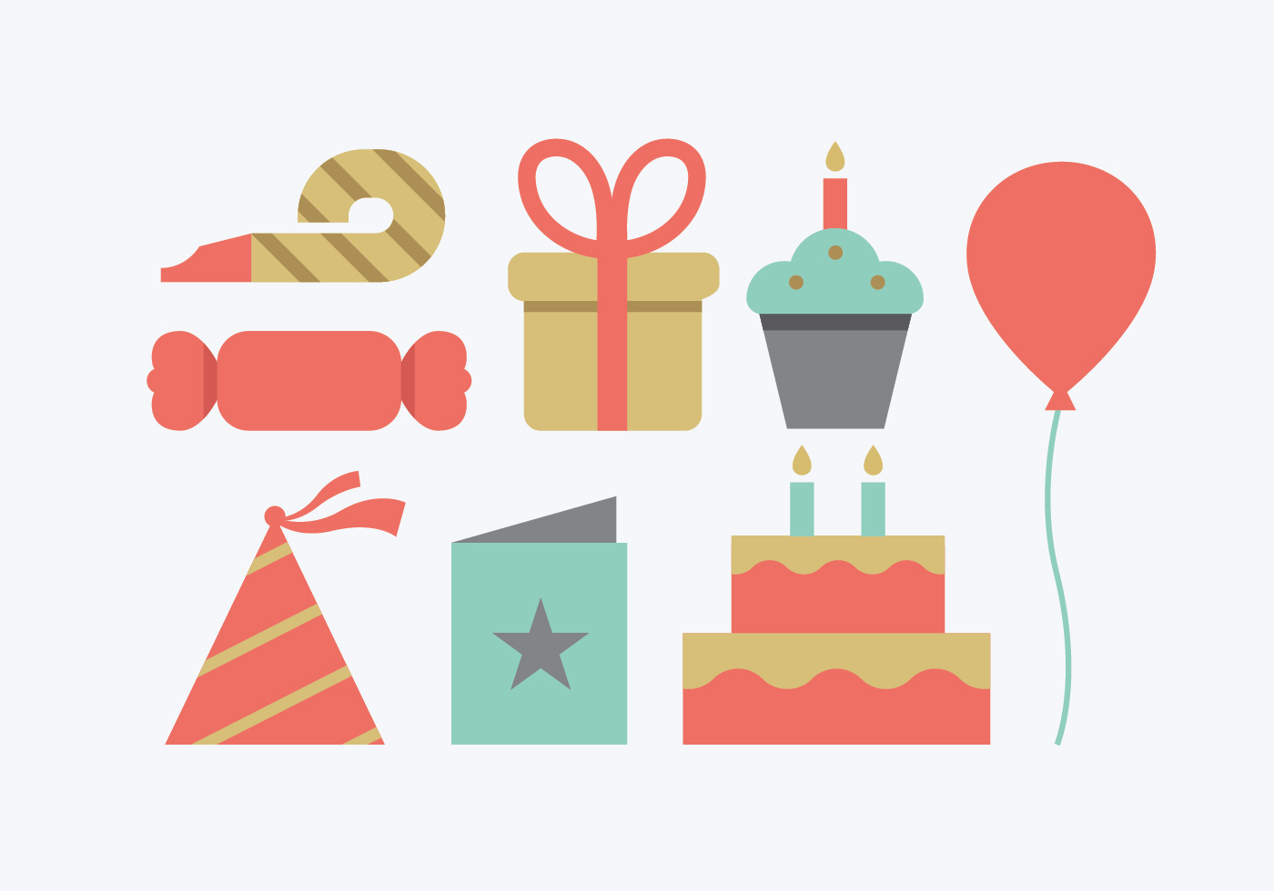 Birthday free vector.