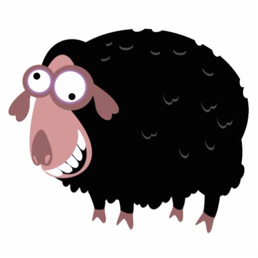 Black sheep clipart small. Free cliparts download clip