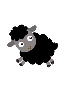 Black sheep clipart small. Pin by lucy staples