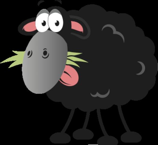black sheep clipart transparent