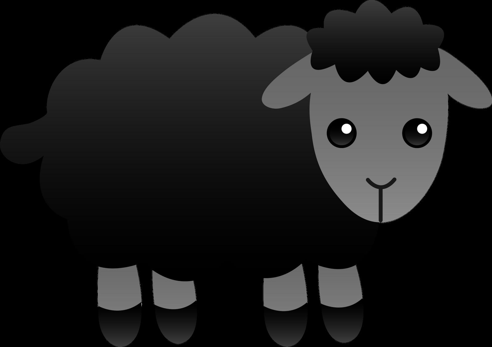 black sheep clipart jumping