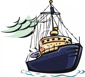 Free fishing boat.