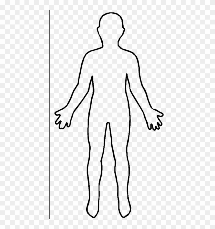 Human body outline.