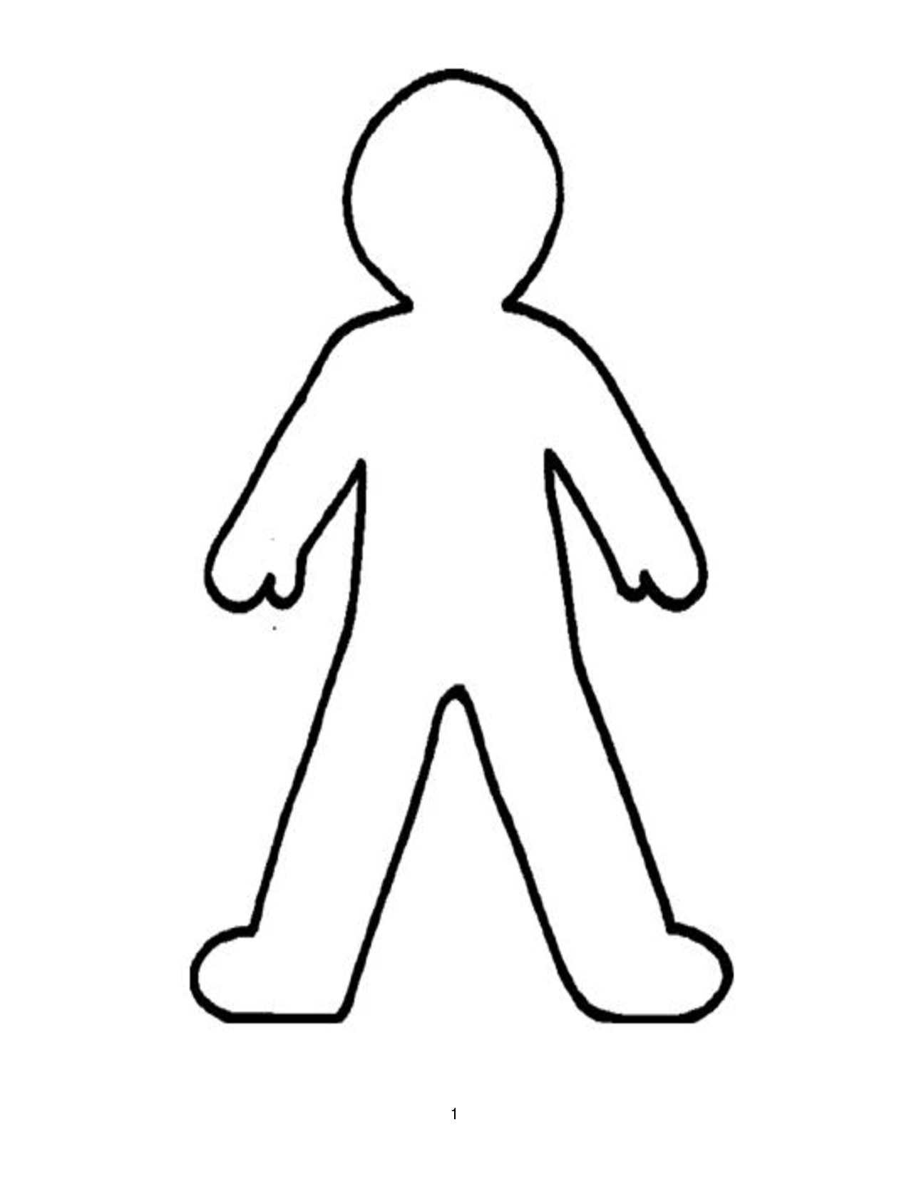 Body outline clipart svg. Free cliparts download clip