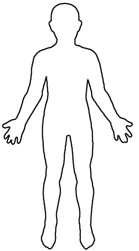 Free Blank Person Outline, Download Free Clip Art, Free Clip