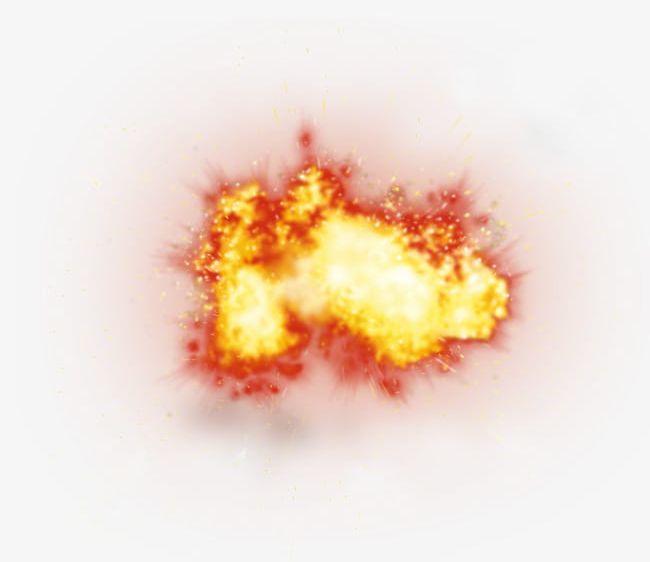 Scene explosion red.
