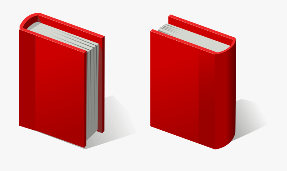 Red Books Clipart