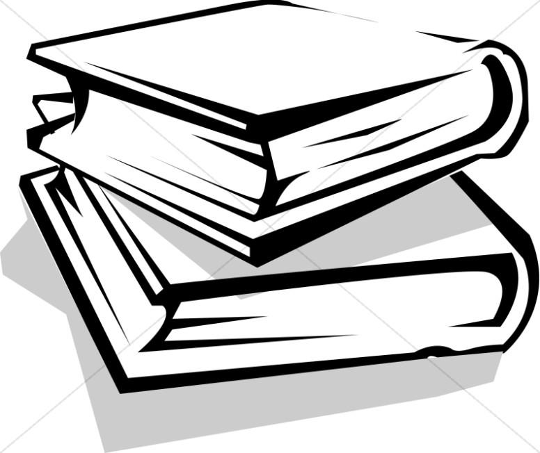 Stack books image.