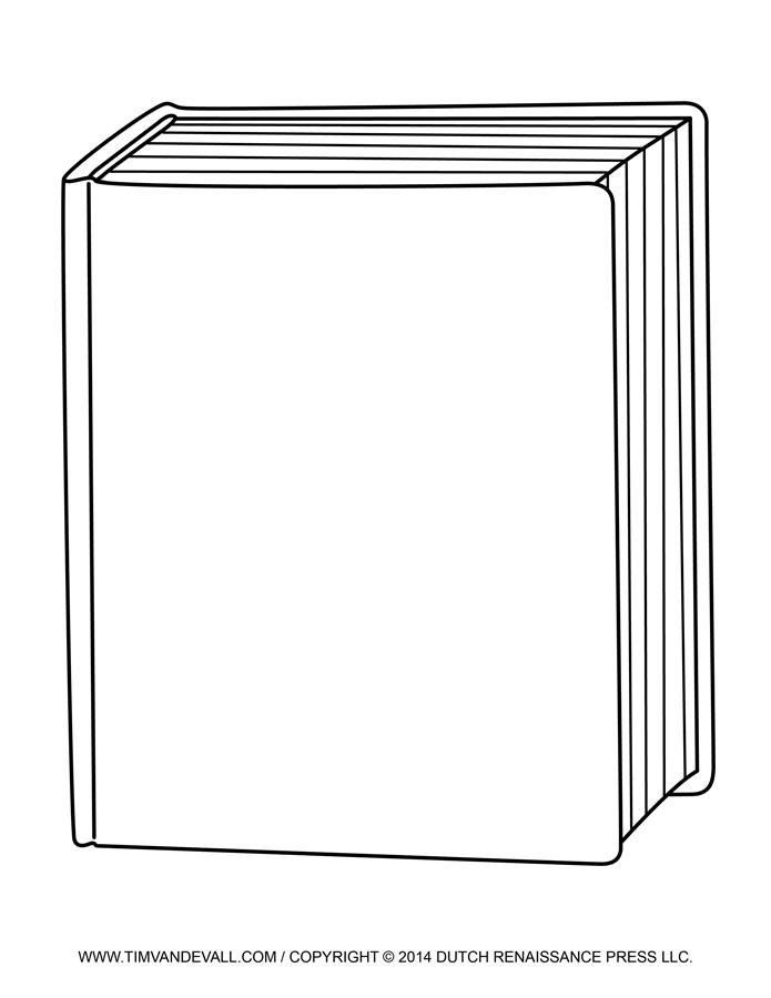 Free blank book.