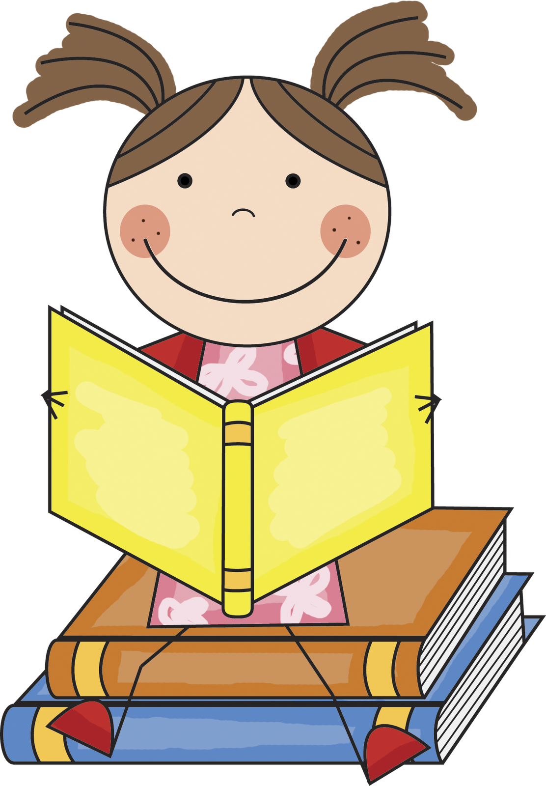 Free Children Reading Books Images, Download Free Clip Art