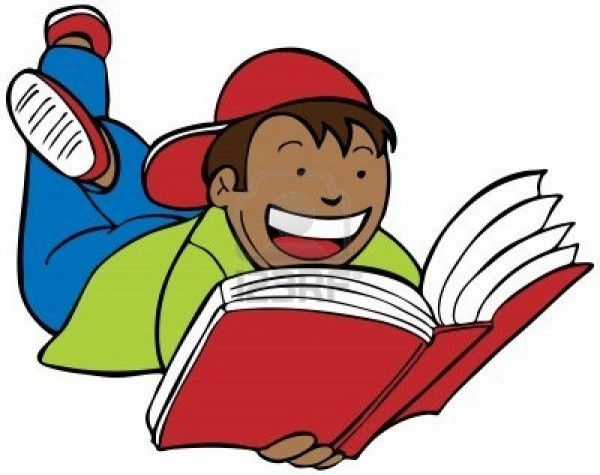 Free Clip Art Children Reading Books