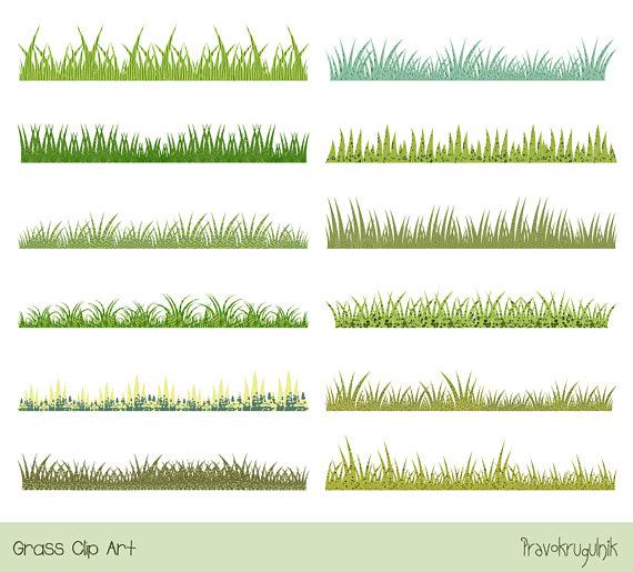 Green grass clip.