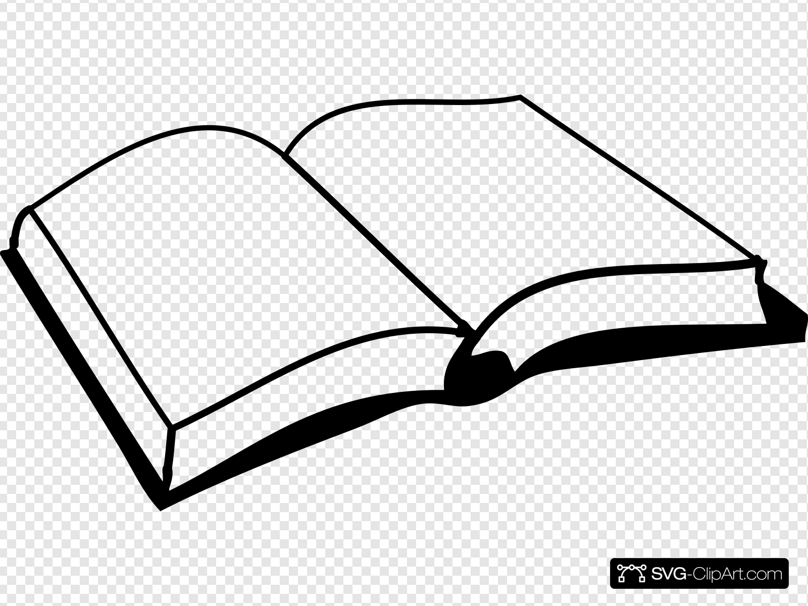 Open Book Clip art, Icon and SVG