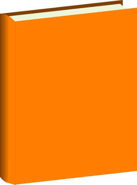 Orange book clip.