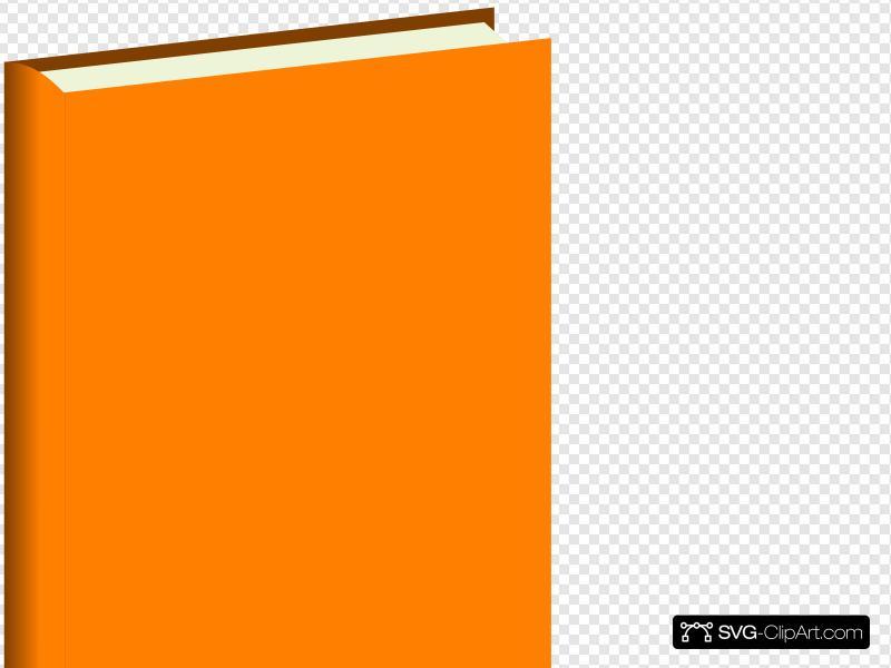 Orange Book Clip art, Icon and SVG