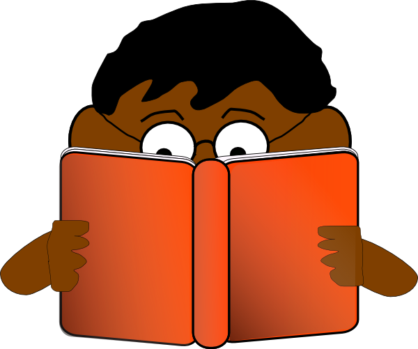 Person Reading Clipart