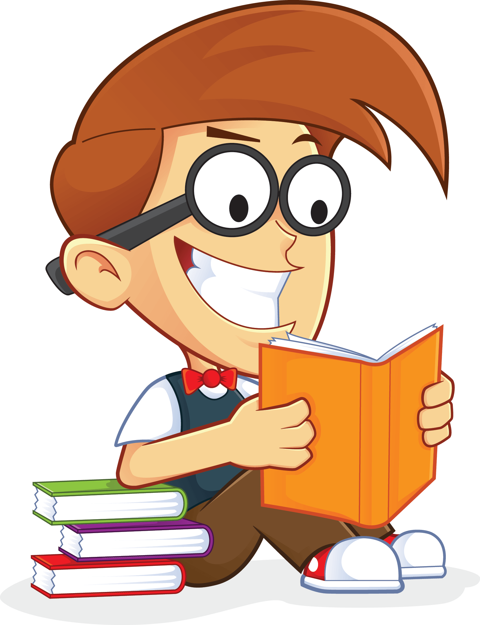 Guy Reading Png