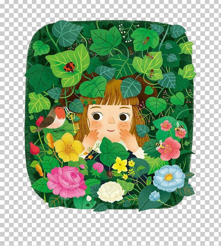 The Secret Garden Illustrator Book Illustration Illustration