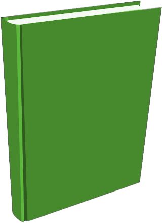 Free Green Book Clipart