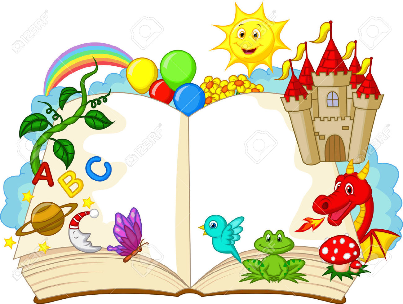Story book clipart