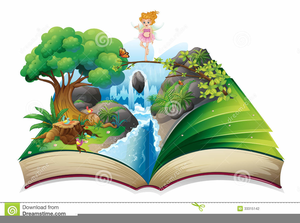 Open story book.